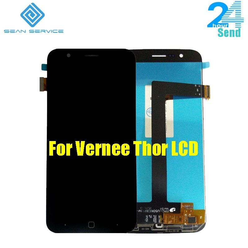 For Original Vernee Thor Mobile phone LCD Display +TP Touch Screen Digitizer Assembly +Tools 5.0