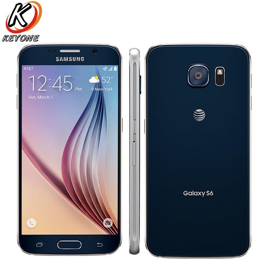 Original AT&T Version Samsung Galaxy S6 G920A 4G LTE Mobile Phone Octa Core 5.1