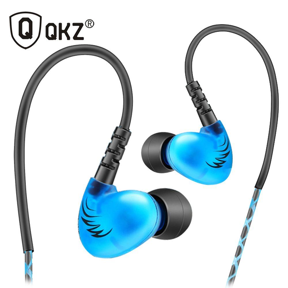 QKZ S6 Sport Casque Téléphone Mobile Écouteurs Avec Microphone Bruit HIFI Annulation Basse Casques Musique Stéréo Casque