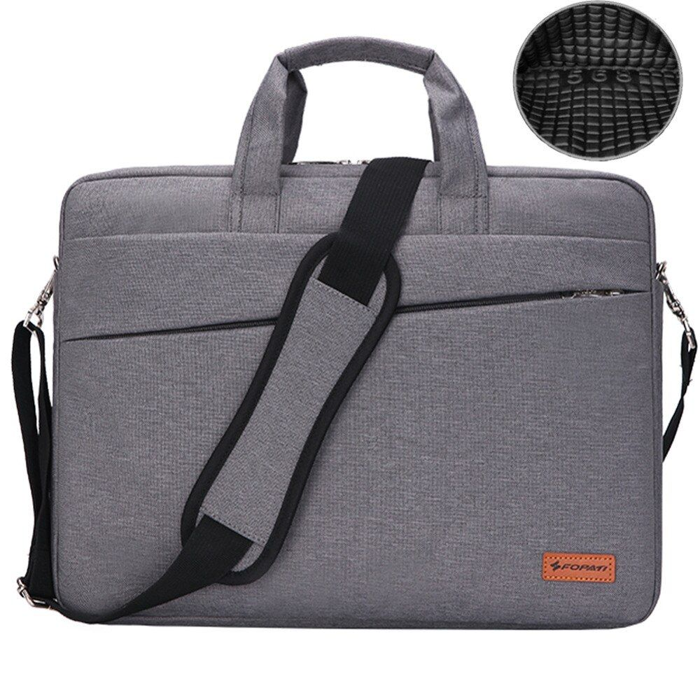 Waterproof Nlylon Laptop Shoulder Bag 15.6 14 13.3inch Notebook Air BAG Messenger Case HandBag Briefcase Women Men carrying bag