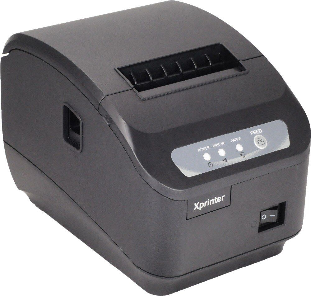 Free shipping pos printer 80mm thermal receipt ticket automatic cutter thermal receipt printer LAN / ethernet port or usb port