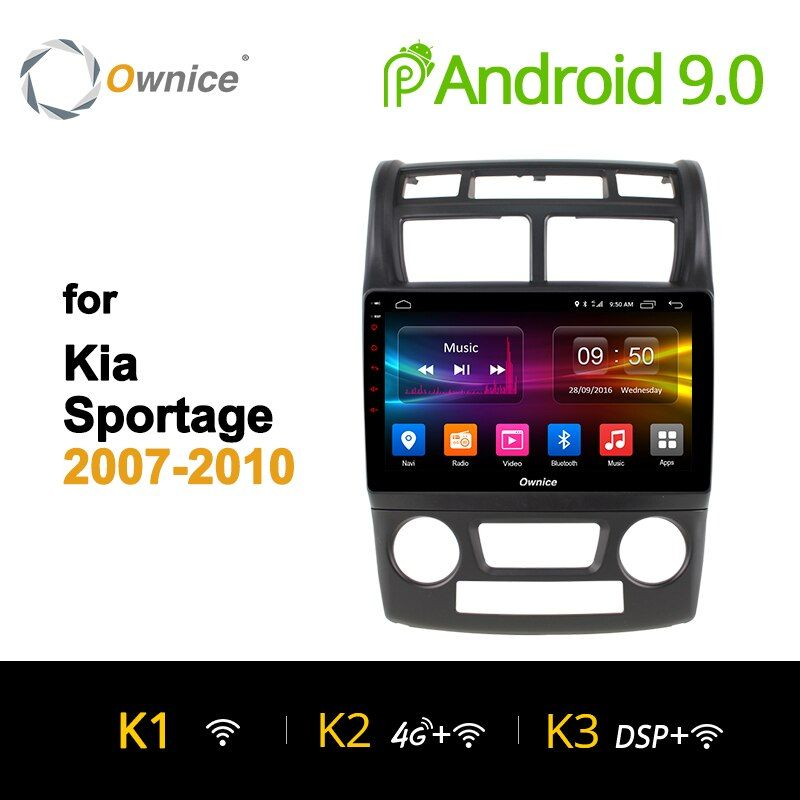 Ownice K1 K2 Octa 8 core auto radio Stereo für KIA Sportage 2007 2008-2010 android 9.0 auto dvd gps player 4G SIM Carplay