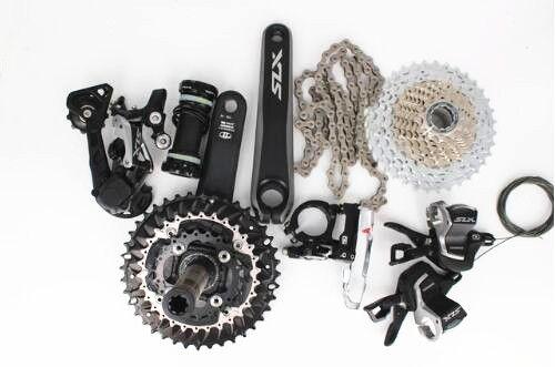 Shimano SLX M7000 upgrade M670 M675 3x10-speed MTB Bike 7pcs Group set Groupset 170mm SLX 30 speed