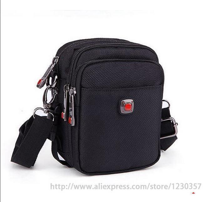 Men messenger bags black oxford material high quality shoulder bag warehouse nylon tool bag mini big 4 sizes a0100
