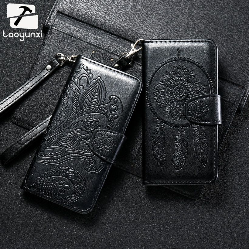 TAOYUNXI PU Leather Cases Covers For Samsung Galaxy S8 Plus S8+ G955F G955FD G955W G955A G955P G955T G955V G955R4 Bags Housing