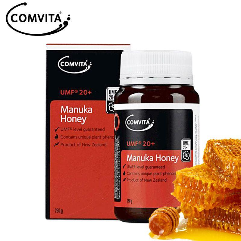 NewZealand 100% Echtem Comvita Manuka Honig UMF20 + 250g Authentische Super Premium Honig, verdauungs gesundheit & atemwege husten