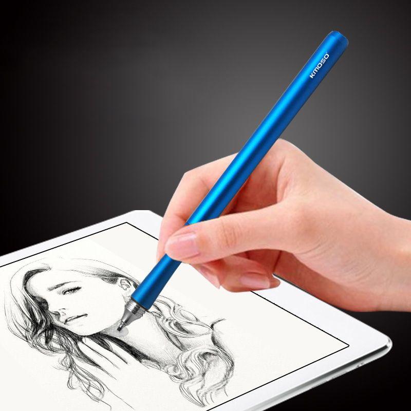 Promotion écran capacitif stylet tablette accessoires tactile stylo pour iPhone/iPad/Samsung/Sony tablettes PC/Windows métal crayon