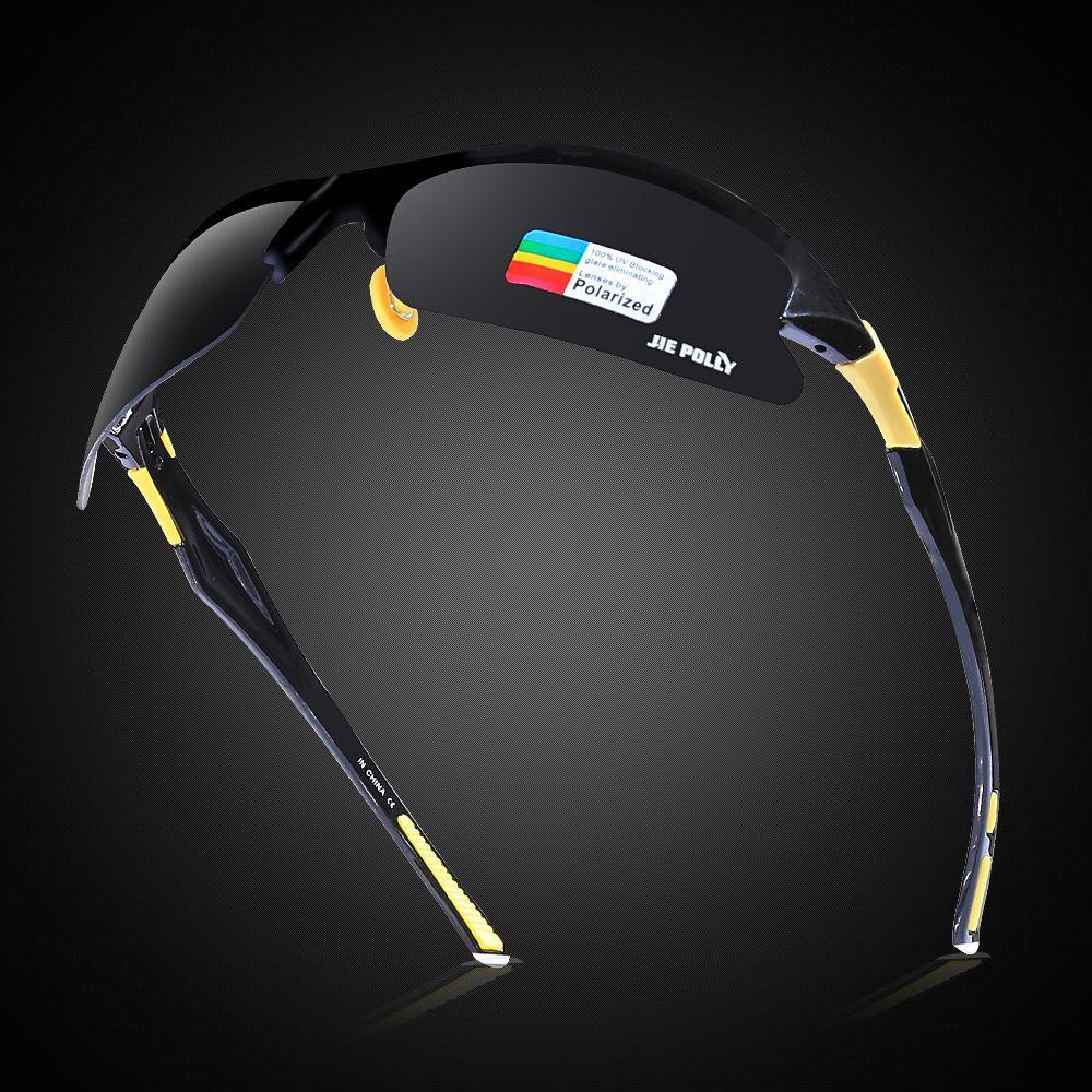Lunettes de soleil de pêche polarisées lunettes de soleil lunettes de Sport en plein air UV400 lentille lunettes de pêche hommes femmes