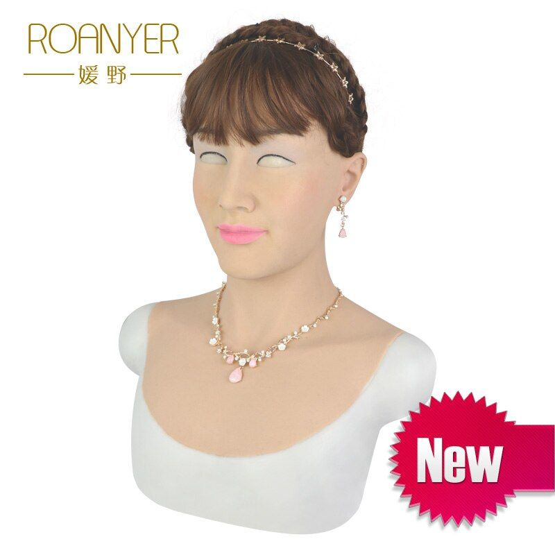 Roanyer Tia realistic sexy silicone skin for shemale crossdress cosplay masquerade crossdresser transgender male to female