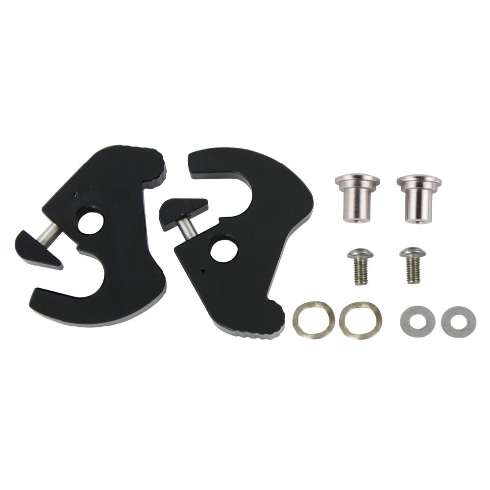 New H-D Detachables Latch Kits For All Harley Equipped With Detachable Sideplates