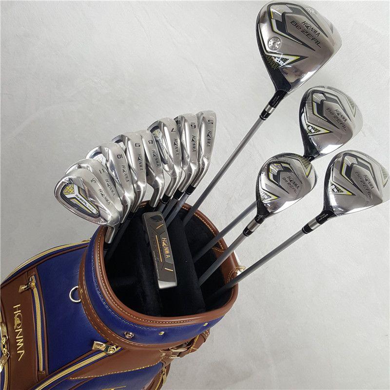 13 stücke Golf Clubs HONMA BEZEAL 525 Komplette Set HONMA Golf fahrer + holz + eisen + putter Graphit Golf welle keine tasche