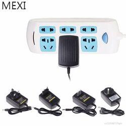 MEXI 24 V 1A Adaptateur Chargeur LED Ultrasons Mist Maker Lumière Brumisateur Fontaine D'eau Étang Puissance UA/ROYAUME-UNI/US/EU Plug