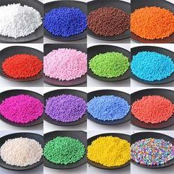 2mm1500pcs Tchèque Verre Solide perles de Rocaille Pour Vêtements décoration 18 couleurs BLSS02X