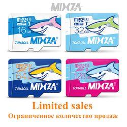 Mixza Акула Edition карты памяти 8 ГБ 16 ГБ 32 ГБ 64 ГБ 128 ГБ микро SD карты Class10 флэш-карты памяти microSD для смартфонов