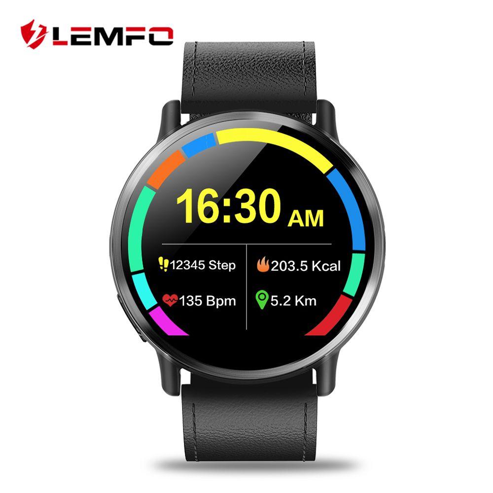 LEMFO LEM X 4g Smart Uhr Android 7.1 Super Große 2,03 zoll Bildschirm 900 mah Batterie Mit 8MP Kamera Sport business Gurt Für Männer