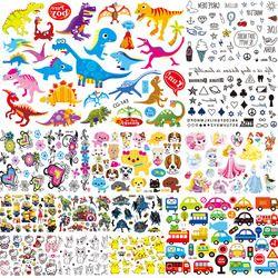 3D Kids Cartoon Temporary Tattoo Sticker Fake Waterproof Tatoo Paste Baby Gifts Toy ACG127 Inspired Flash Tattoo Child Body Arm