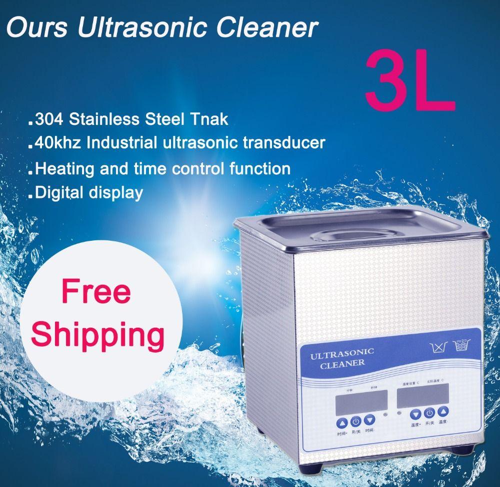3L Ultraschallreiniger 120 Watt Freies Verschiffen preis beinhaltet reinigung korb