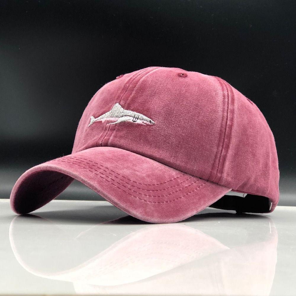 Qui dans la douche cousu requin snapback homme casquette casquette de baseball hip hop broderie courbé strapback papa chapeau d'été poisson chapeau de soleil