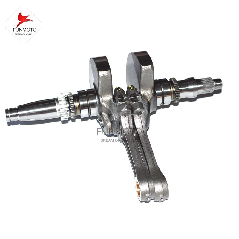 crank shaft mark A with connecting rods for CFMOTO/CFX8/CFZ8/2V91W parts no. is 0800-041000-2002/0800-042000-0001