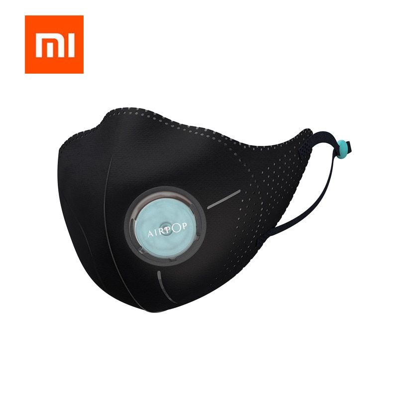 Xiomi Mijia Airpop 360 Degree Light Air Wear PM2.5 Anti-haze Face Mask Adjustable ear hanging Comfortable For xiaomi smart home