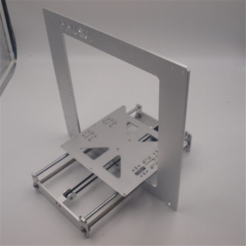 Funssor Update Prusa i3 frame kit aluminum alloy Anodized silver color