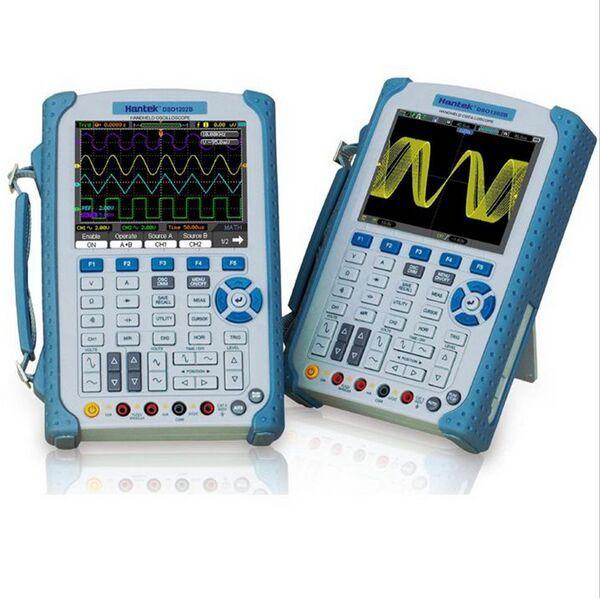 DHL Freies Hantek DSO1202B 2 Kanal 200 MHz 1GSa/s Digitale Handheld-oszilloskop DSO1202B 6000 Zählt DMM mit analog balken