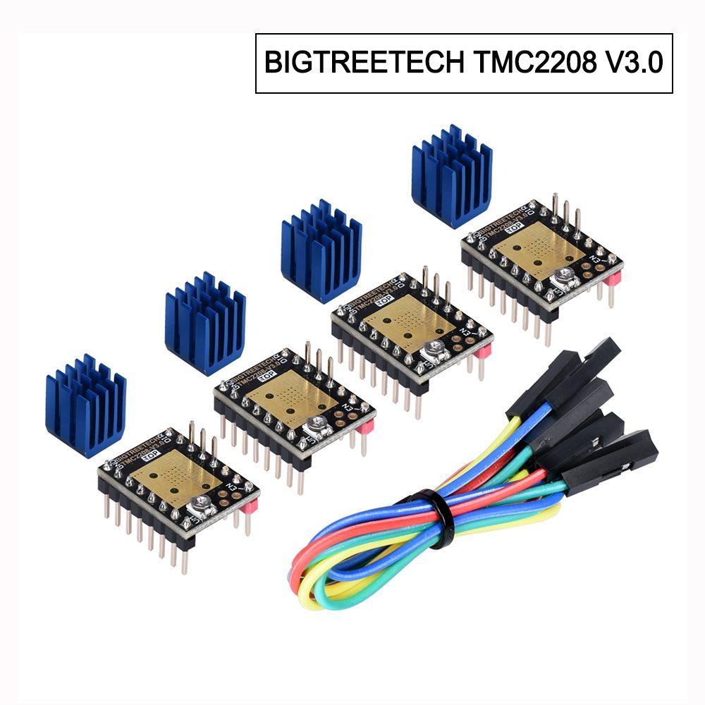 BIGTREETECH TMC2208 V3.0 moteur pas à pas StepStick pilote UART 3D imprimante pièces reprap TMC2130 TMC2209 costume SKR MKS GEN rampes 1.4