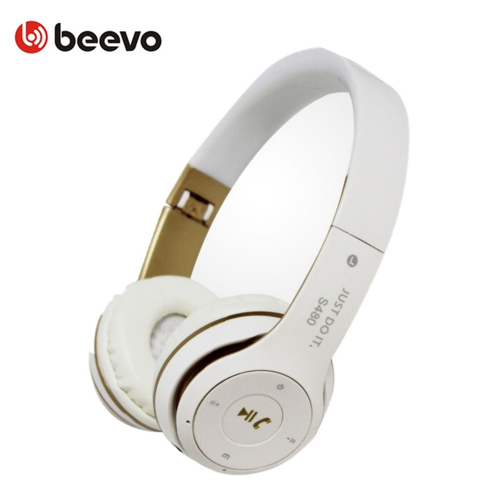 Vente chaude S-480 Portable Bluetooth Pliable Casque Sans Fil Sport Casque Avec Micro Pour Mobile Téléphone Écouteurs Soutien TF Carte