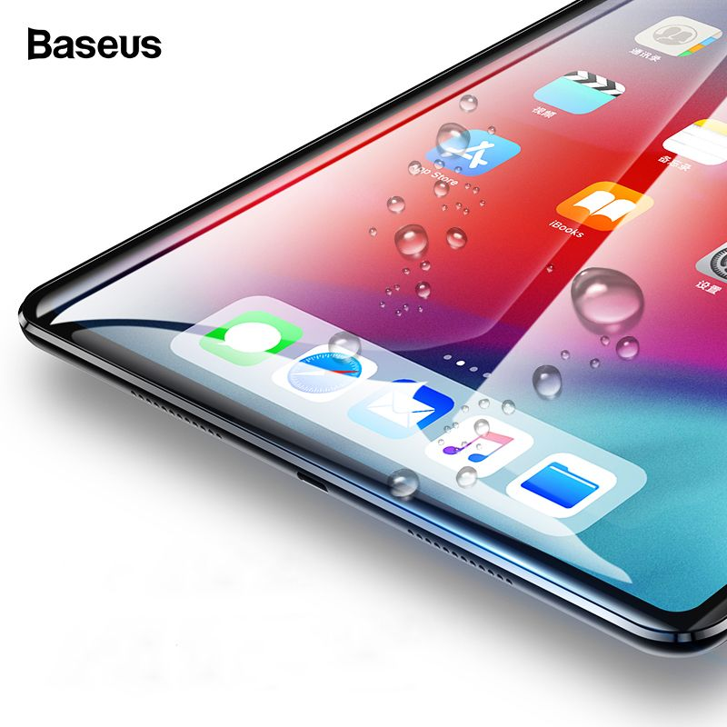 Baseus Screen protector For iPad Pro 11 12.9 inch Tempered Glass Protective Film For Apple iPad 2018 New Tablet Toughened Glass