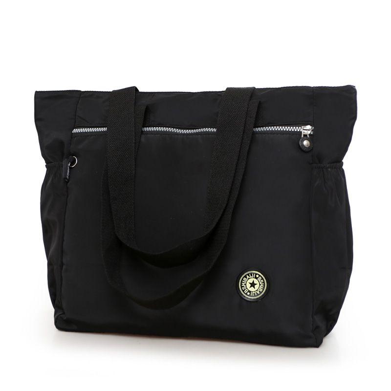 Femmes grand sac à main nouveau 2017 nylon étanche sac à bandoulière sac casual bref all-match grand tissu mode loisirs sac de voyage sac