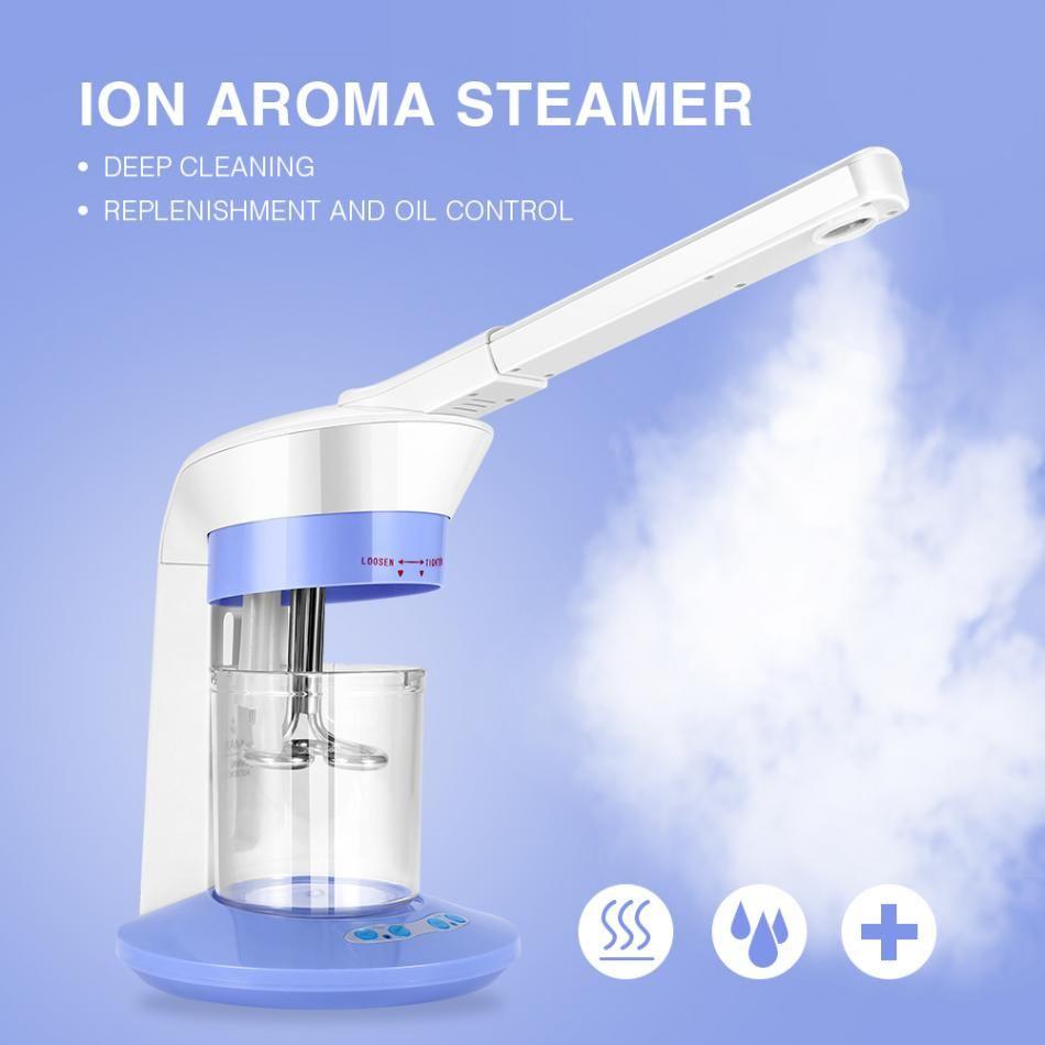 2 In 1 Gesichts Dampfer Ozon Gesicht Sprayer Ionen Verdampfer Dampfer Für Feuchtigkeitsspendende Hautpflege Maschine Nebel Gesicht Spray Schönheit gerät