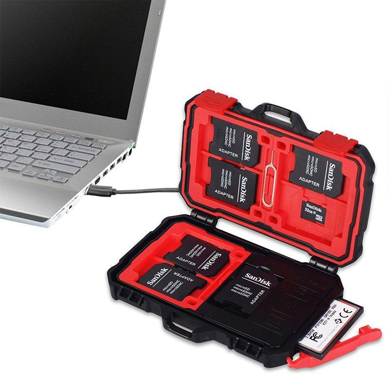 High-speed-kartenleser 2-in-1 Speicherkarte Fall Speicherkarte Reader 3,0 USB KH 5 Gbps für Smartphone mit OTG Funktion/Tablet PC