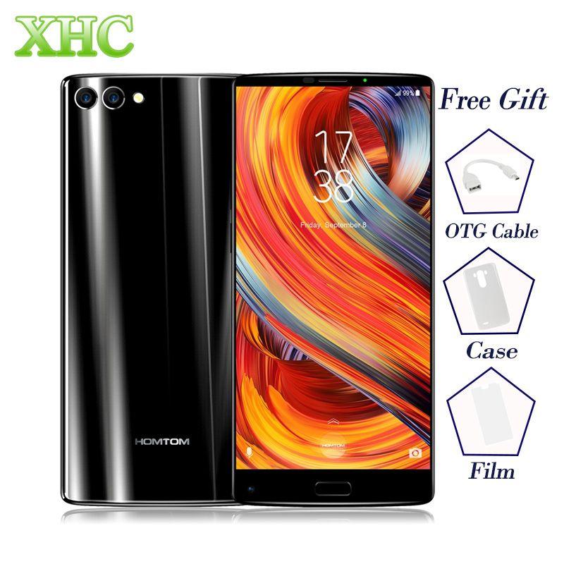 5.99 HOMTOM S9 Plus Smartphones MTK6750T Octa base 4G RAM 64 ROM Téléphones Portables 4050 mAh 13MP + 16MP Caméra OTG double SIM Mobile Téléphones
