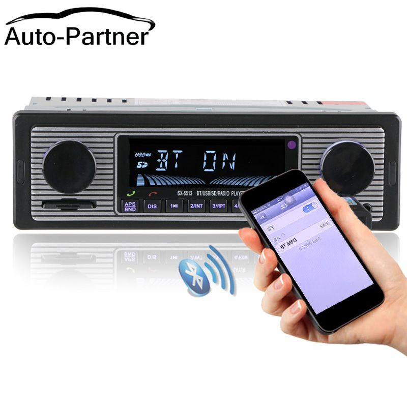 NOUVEAU 12 v Voiture Radio Lecteur Bluetooth Stéréo FM MP3 USB SD AUX Audio Électronique Automobile autoradio 1 DIN oto teypleri radio para carro