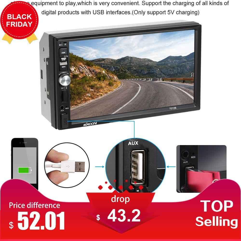 Autoradio 7 inch Automagnitola 2 Din Car Radio MP5 Player Multimedia for ford focus 2 seat ibiza seat leon bmw e46 opel insignia
