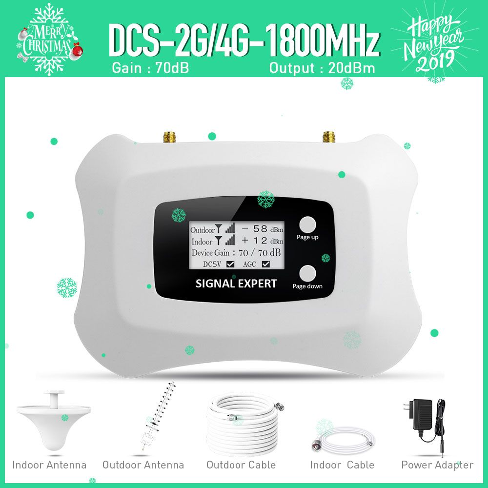 Specially for Russia DCS 2g 1800mhz Tele2 4G repeater amplifier 2g Tele2 4g <font><b>signal</b></font> repeater cellular <font><b>signal</b></font> booster amplifier