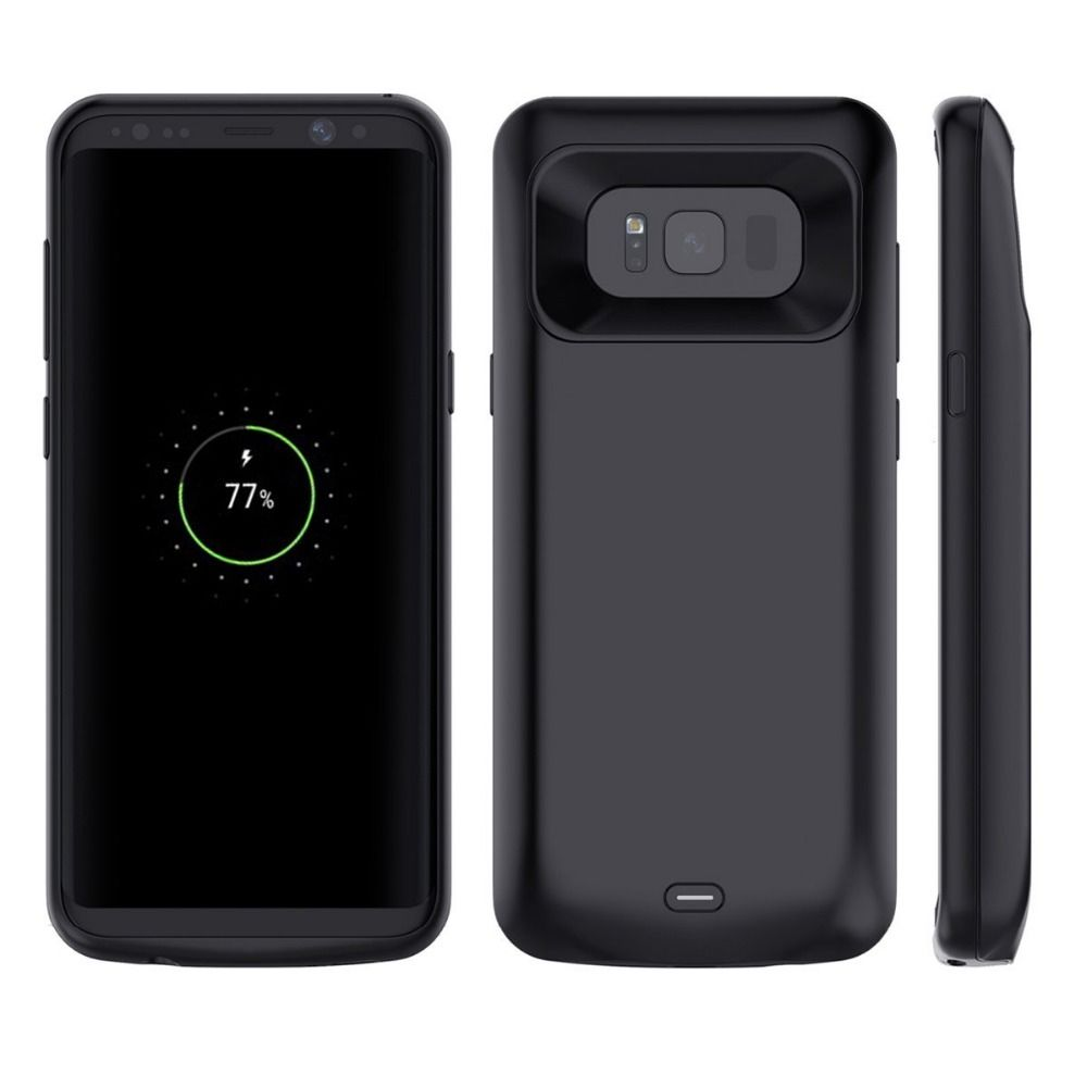 Battery Charger Case For Samsung Galaxy S8 5000mAh Power Bank Case For S8 Plus 5500mAh External Backup Battery Charging Case