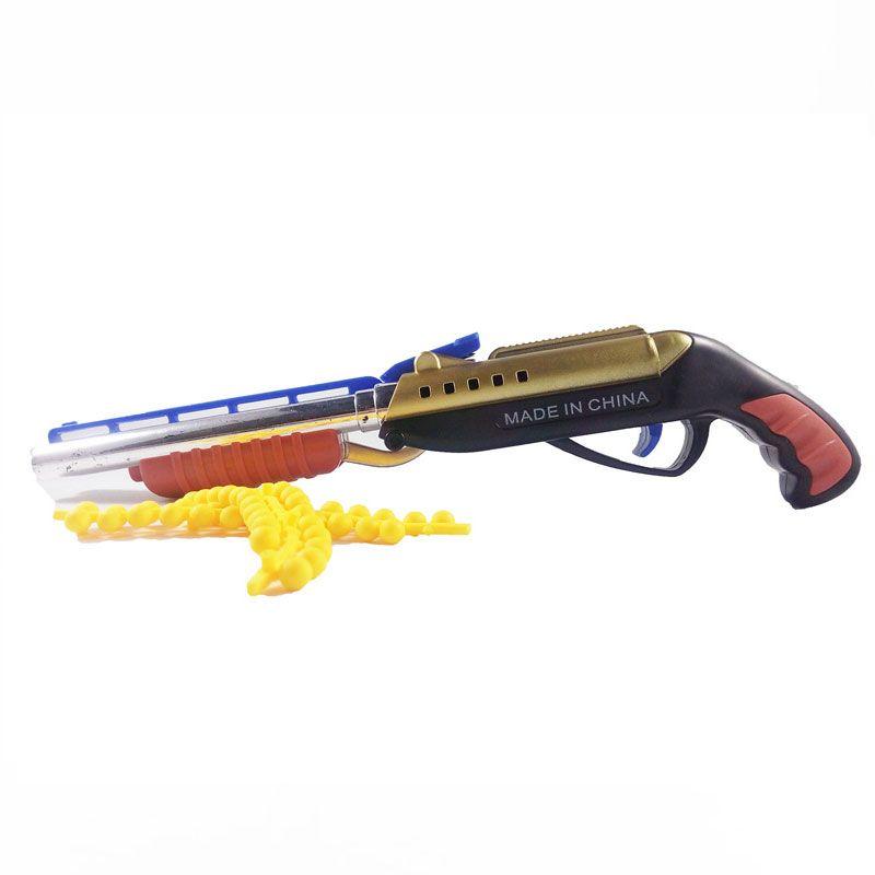 Армейские двойной трубы пушка Игрушечные лошадки пуля Охота винтовок воды пули пистолет для детей