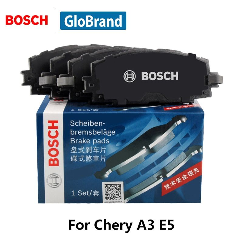 4pieces/set BOSCH Car Front Brake Pads For Chery A3 E5 0986AB3909