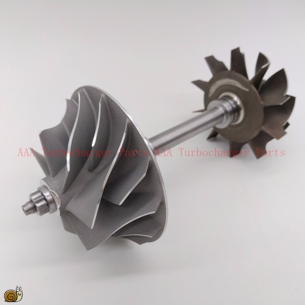 HX40W Turbine wheel 64x76mm,10blades,compressor wheel 60x86mm 7/7,Turbo parts rebuild kits supplier AAA Turbocharger Parts