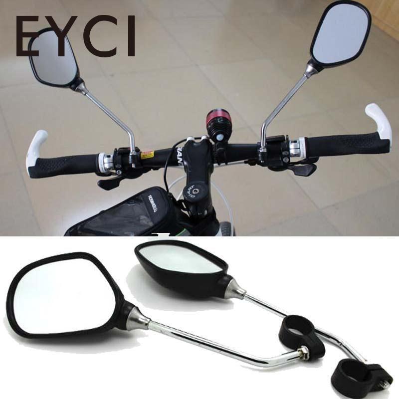 EYCI 1 Pair Fahrrad Spiegel Radfahren Mtb Lenker Rückspiegel Flexible Justierbare Sichere Spiegel Fahrrad Zubehör