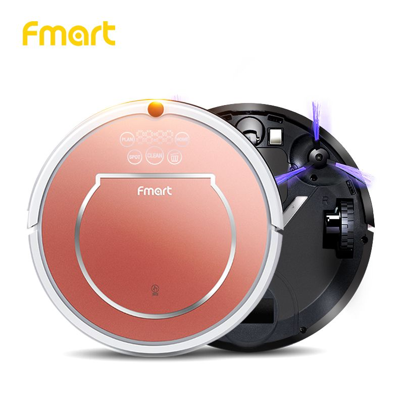 Fmart YZ-Q1 Robot Vacuum Cleaner for Pet Hair 800pa Suction Dry and Wet Mopping House Cleaning Sweep HEPA Filter Robot Cleaner