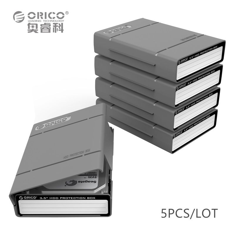 ORICO PHP-5S-GY Simple HDD Protector Box for 3.5