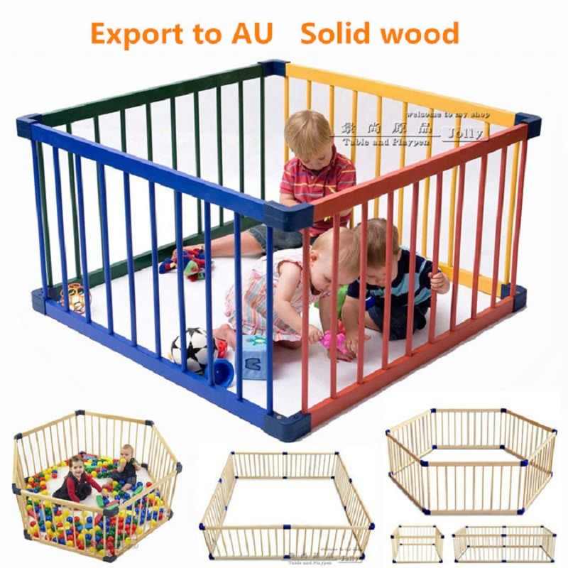 safety kids gate for children pet baby fence stairs 80*60 cm