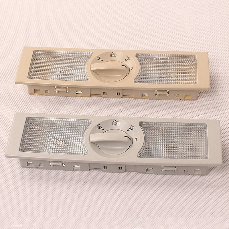 Gray or Beige REAR Interior Dome Light Reading Lamp LIGHTS FOR VW POLO TOURAN GOL SHARAN JETTA SKODA RAPID SEAT ALTEA