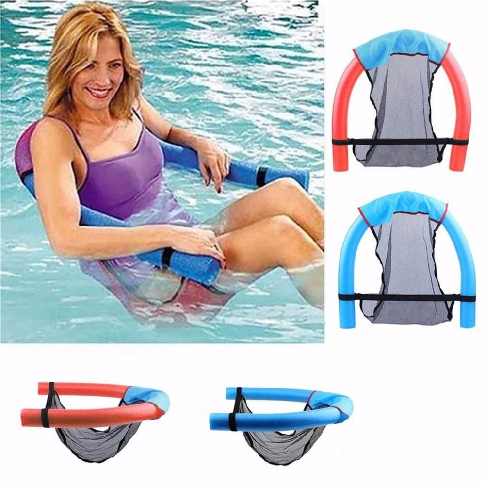 6.5*150cm Portable Water Swimming Pool Seats Super Buoyant Plastic Foam Floating Bed Chair Floating Supplies Children Adult