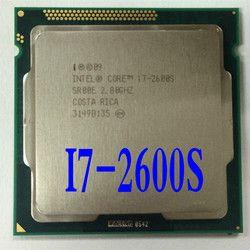 Lntel I7 2600 S Prosesor CPU Quad-Core 2.8G Hz/L3 = 8 M/65 W LGA 1155 Desktop CPU (Bekerja 100% Gratis Pengiriman)