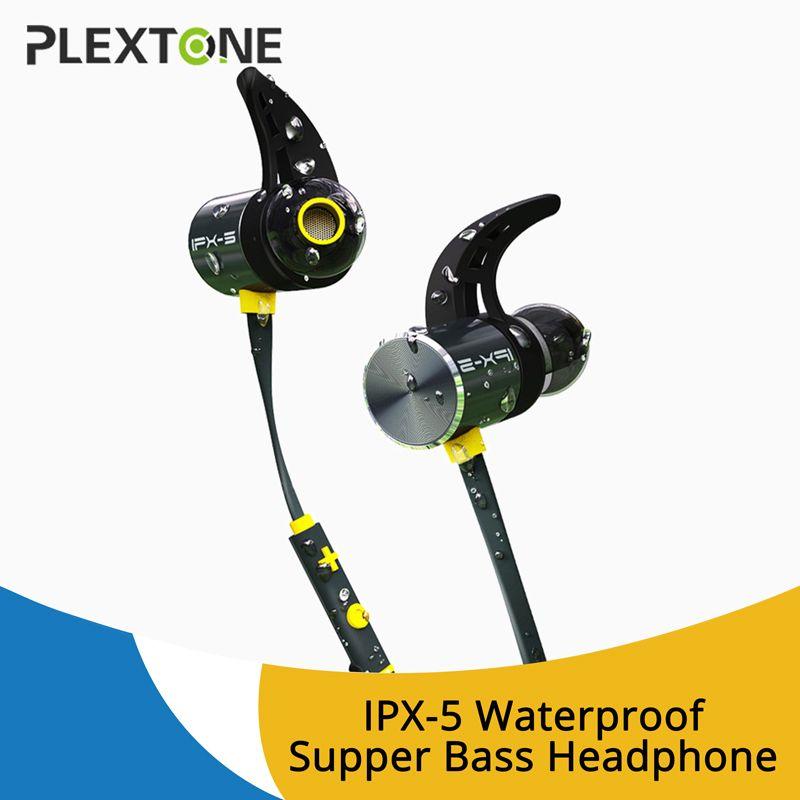 PLEXTONE BX343 Sports Wireless Headset Earphones In-ear wireless magnetic bluetooth headphones with mic Microphone Mini Earbuds