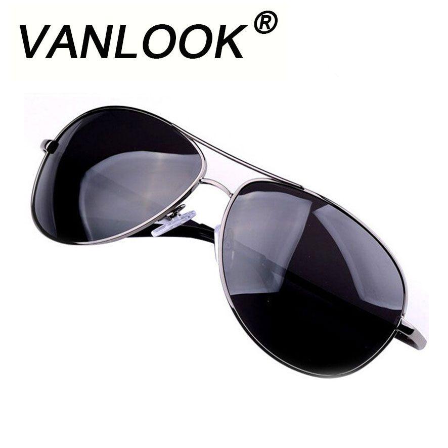 Lunettes de soleil polarisées pour hommes marque Oculos Masculino Gunmetal lunettes classiques lunettes de soleil en métal lunettes de soleil pour hommes