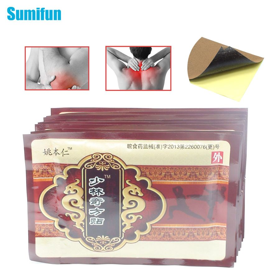 80pcs Chinese pain relief Plaster Relief Rheumatism Joint back Pain medical plaster pain relief patch massage relaxation D1003